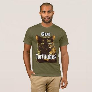 Tortitude obtenu T-shirt américain d'habillement