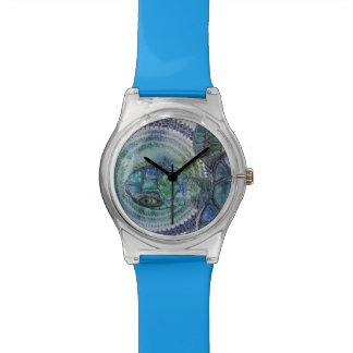 Tortue bleue montres bracelet