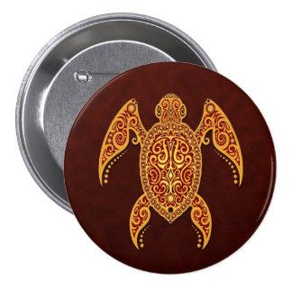 Tortue d or complexe de la Mer Rouge Badge