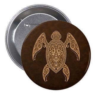 Tortue de mer complexe de Brown Badges