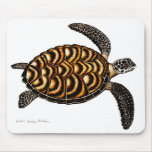 Tortue de mer de Hawksbill Mousepad Tapis De Souris