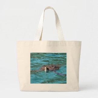 Tortue de mer d'imbécile grand sac