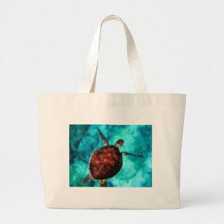 tortue de mer grand sac