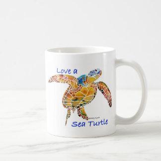 Tortue de mer mug