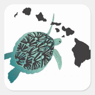 Tortue de mer verte d'Hawaï