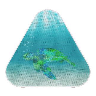 Tortue de mer verte haut-parleur bluetooth