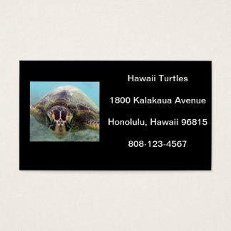 Tortue d'Hawaï Cartes De Visite