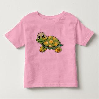 Tortue heureuse t-shirt pour les tous petits