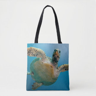 Tortue renversante de mer sac