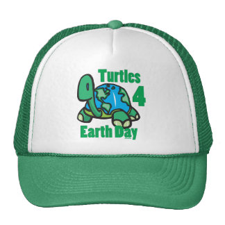 Tortues pour le casquette de jour de la terre