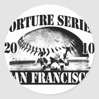 TortureSeriesTrans300 Sticker Rond