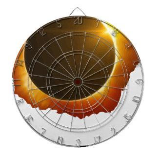 Total-Solaire-Éclipse Cibles De Fléchettes
