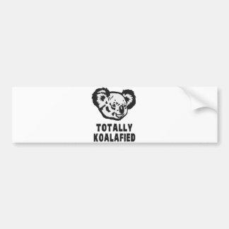 Totalement koala de Koalafied Autocollant Pour Voiture