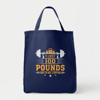 Tote Bag 100 livres perdues de forme physique de arrêt d'Im