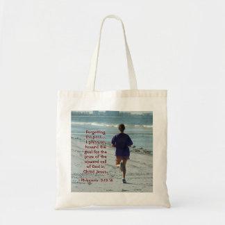 """Tote Bag 3h13 de Philippiens - 14 que je presse """"MARCHE"""""""
