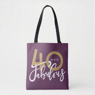 Tote Bag 40 et fabuleux
