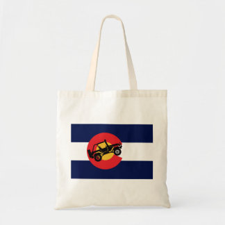 Tote Bag 4-Wheeler-in-CO-Flag-2