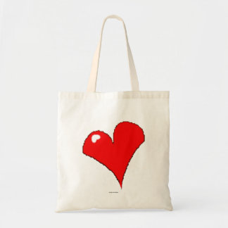Tote Bag À la mode Girly mignon de coeur rouge
