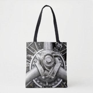 Tote Bag À l'intérieur d'un propulseur