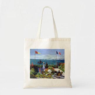 Tote Bag À Sainte-Adresse de Jardin par Claude Monet