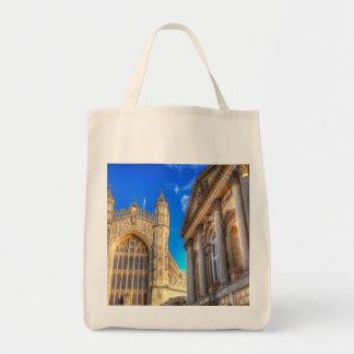 Tote Bag Abbaye de Bath et bains romains