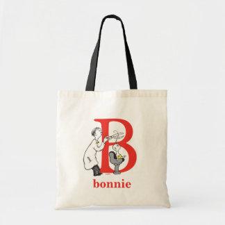 Tote Bag ABC de Dr. Seuss's : Lettre B - Le rouge |