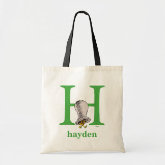 Tote Bag ABC de Dr. Seuss's : Lettre H - Le vert | ajoutent
