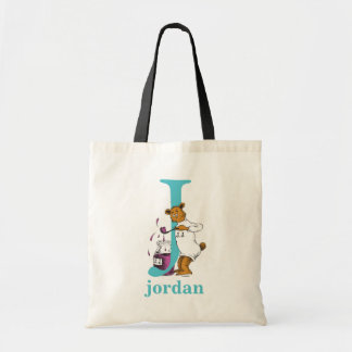 Tote Bag ABC de Dr. Seuss's : Lettre J - Teal | ajoutent