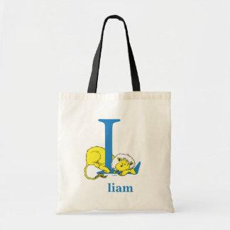 Tote Bag ABC de Dr. Seuss's : Lettre L - Le bleu | ajoutent
