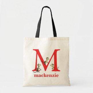 Tote Bag ABC de Dr. Seuss's : Lettre M - Le rouge |