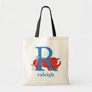 Tote Bag ABC de Dr. Seuss's : Lettre R - Le bleu   ajoutent