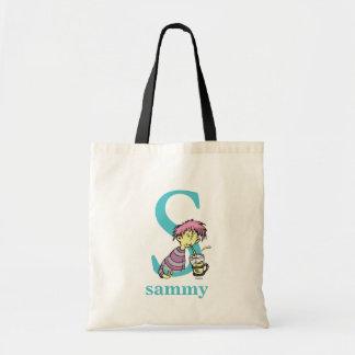 Tote Bag ABC de Dr. Seuss's : Lettre S - Le bleu | ajoutent