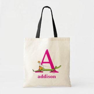 Tote Bag ABC de Dr. Seuss's : Marquez avec des lettres A -