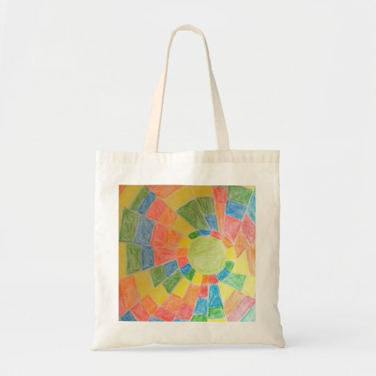 TOTE BAG ABSTRACT ART