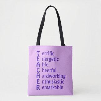 Tote Bag Acronyme de professeur