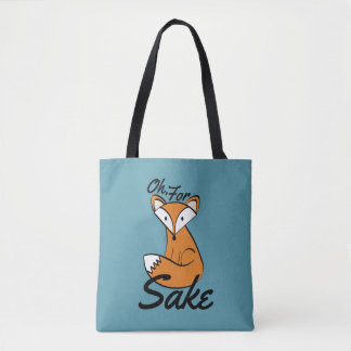 Tote Bag Ah, dans l'intéret de Fox