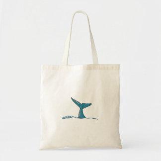 Tote Bag Aileron de poissons de baleine