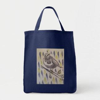 Tote Bag alerte d'oiseau