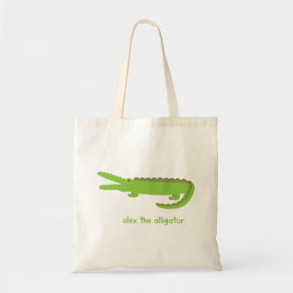 Tote Bag Alex l'alligator