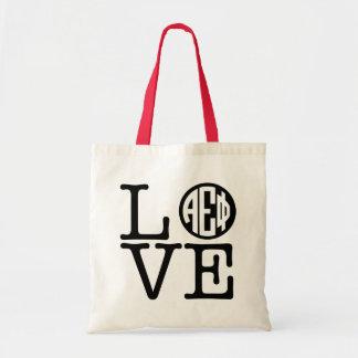 Tote Bag Alpha amour epsilon du phi |