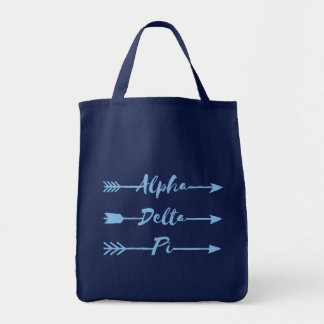Tote Bag Alpha flèches du delta pi |