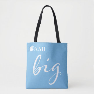 Tote Bag Alpha grand manuscrit du delta pi |