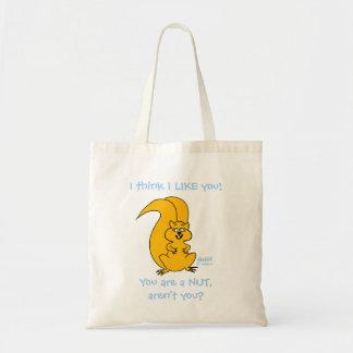 Tote Bag Amitié drôle Fourre-tout d'écureuil de bande