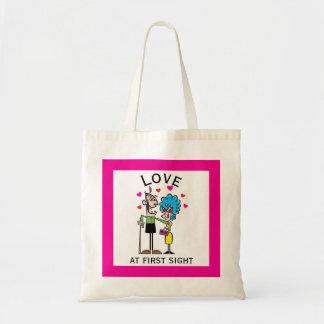 Tote Bag Amour à la première vieille vieille vue