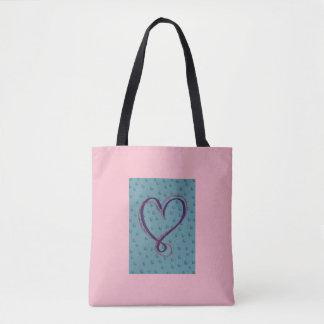 Tote Bag Amour de bulle : plein fourre-tout