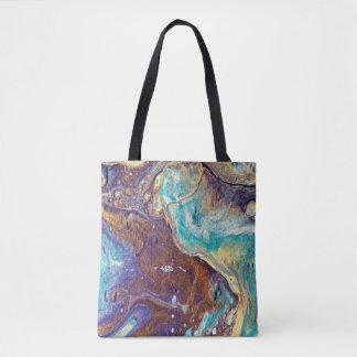 Tote Bag Amour de cuivre Geode Fourre-tout