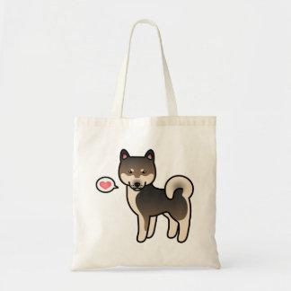 Tote Bag Amour de sésame de Shiba Inu