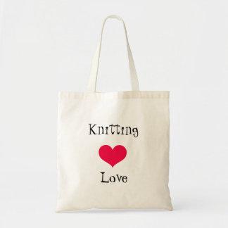 Tote Bag Amour de tricot