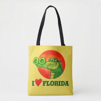 Tote Bag amour drôle la Floride de la bande dessinée i de