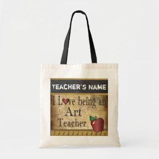 Tote Bag Amour étant un nom du professeur d'art |
